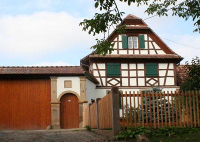 Rénovation d'une ferme Alsacienne